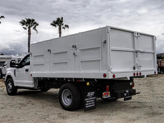2019 F-350 Regular Cab DRW 4x2,  Scelzi Landscape Dump #FK3162 - photo 1