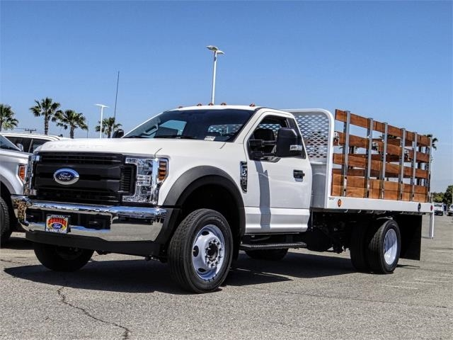 2019 F-450 Regular Cab DRW 4x2,  Scelzi Stake Bed #FK3219 - photo 1