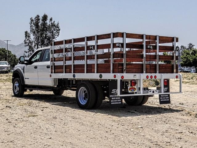 2019 F-550 Crew Cab DRW 4x2,  Scelzi WFB Stake Bed #FK3372 - photo 2