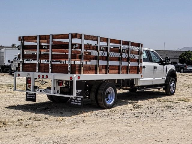 2019 F-550 Crew Cab DRW 4x2,  Scelzi WFB Stake Bed #FK3372 - photo 5