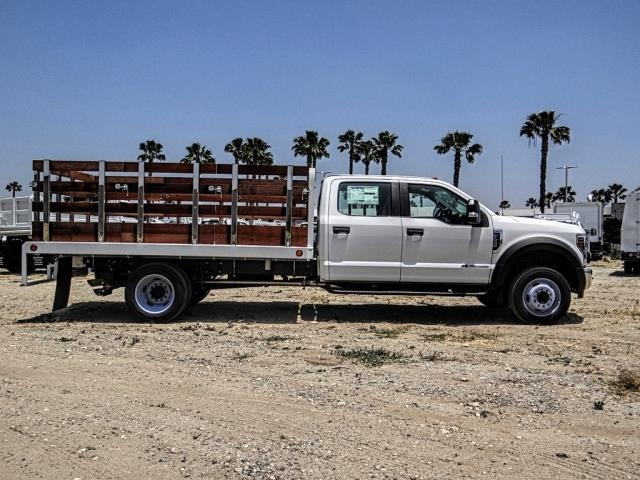 2019 F-550 Crew Cab DRW 4x2,  Scelzi WFB Stake Bed #FK3372 - photo 6