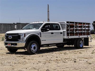 2019 F-550 Crew Cab DRW 4x2,  Scelzi WFB Stake Bed #FK3372 - photo 1