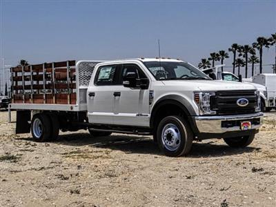 2019 F-550 Crew Cab DRW 4x2,  Scelzi WFB Stake Bed #FK3372 - photo 7