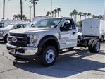 2019 F-550 Regular Cab DRW 4x2,  Cab Chassis #FK3411 - photo 1