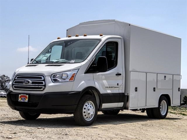 2019 Transit 350 HD DRW 4x2,  Harbor Service Utility Van #FK3414 - photo 1