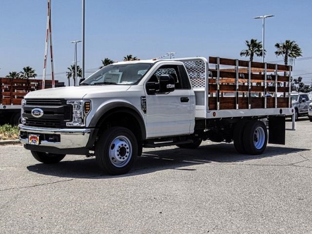 2019 F-450 Regular Cab DRW 4x2,  Scelzi Stake Bed #FK3523 - photo 1