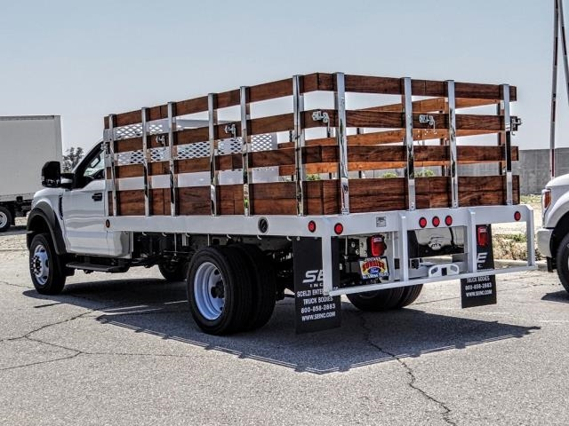2019 F-450 Regular Cab DRW 4x2,  Scelzi WFB Stake Bed #FK3523 - photo 2