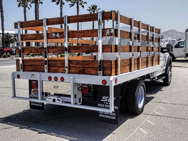 2019 F-450 Regular Cab DRW 4x2,  Scelzi WFB Stake Bed #FK3523 - photo 5