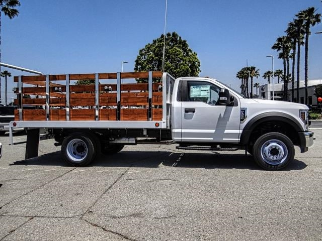 2019 F-450 Regular Cab DRW 4x2,  Scelzi WFB Stake Bed #FK3523 - photo 6