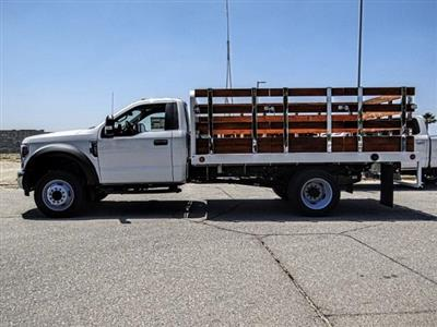 2019 F-450 Regular Cab DRW 4x2,  Scelzi WFB Stake Bed #FK3523 - photo 3
