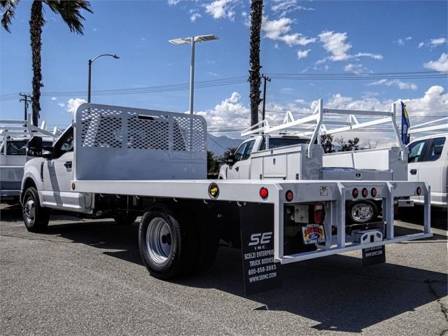 2019 F-350 Regular Cab DRW 4x2,  Scelzi Flatbed #FK3525 - photo 1