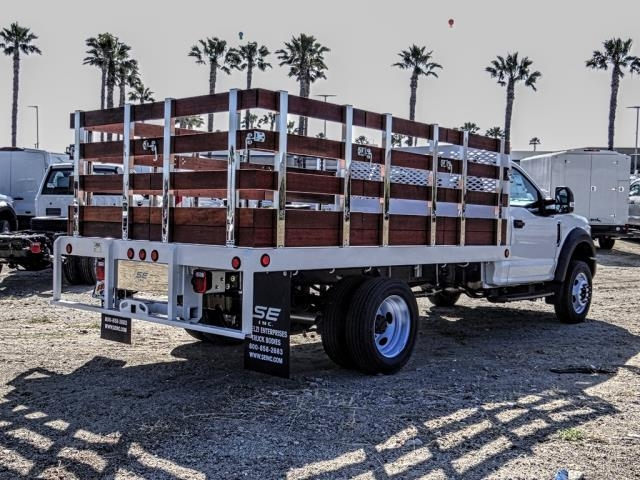 2019 F-450 Regular Cab DRW 4x2,  Scelzi WFB Stake Bed #FK3535 - photo 5