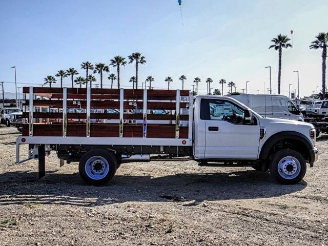 2019 F-450 Regular Cab DRW 4x2,  Scelzi WFB Stake Bed #FK3535 - photo 6