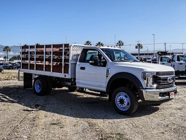 2019 F-450 Regular Cab DRW 4x2,  Scelzi WFB Stake Bed #FK3535 - photo 7