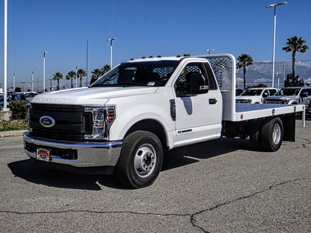 2019 F-350 Regular Cab DRW 4x2,  Scelzi Flatbed #FK3538 - photo 1