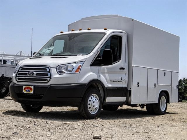 2019 Transit 350 HD DRW 4x2,  Harbor Service Utility Van #FK3544 - photo 1