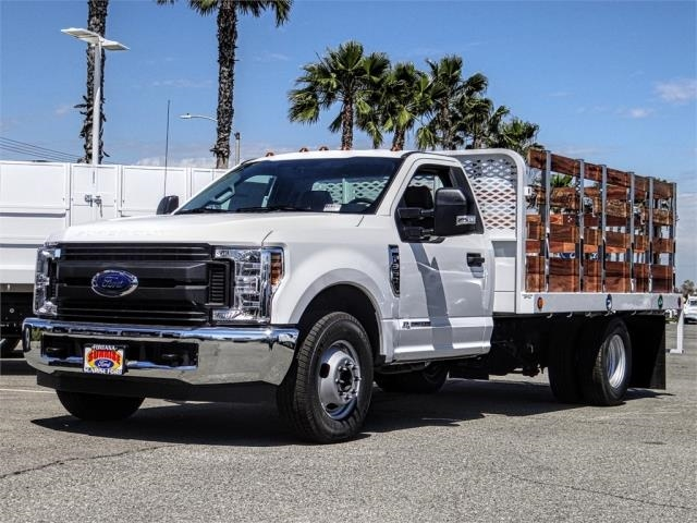 2019 F-350 Regular Cab DRW 4x2,  Scelzi Stake Bed #FK3566 - photo 1