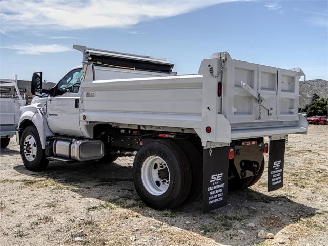 2019 F-650 Regular Cab DRW 4x2,  Scelzi Dump Body #FK3641 - photo 1
