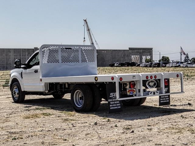2019 F-350 Regular Cab DRW 4x2,  Scelzi Flatbed #FK3646 - photo 1