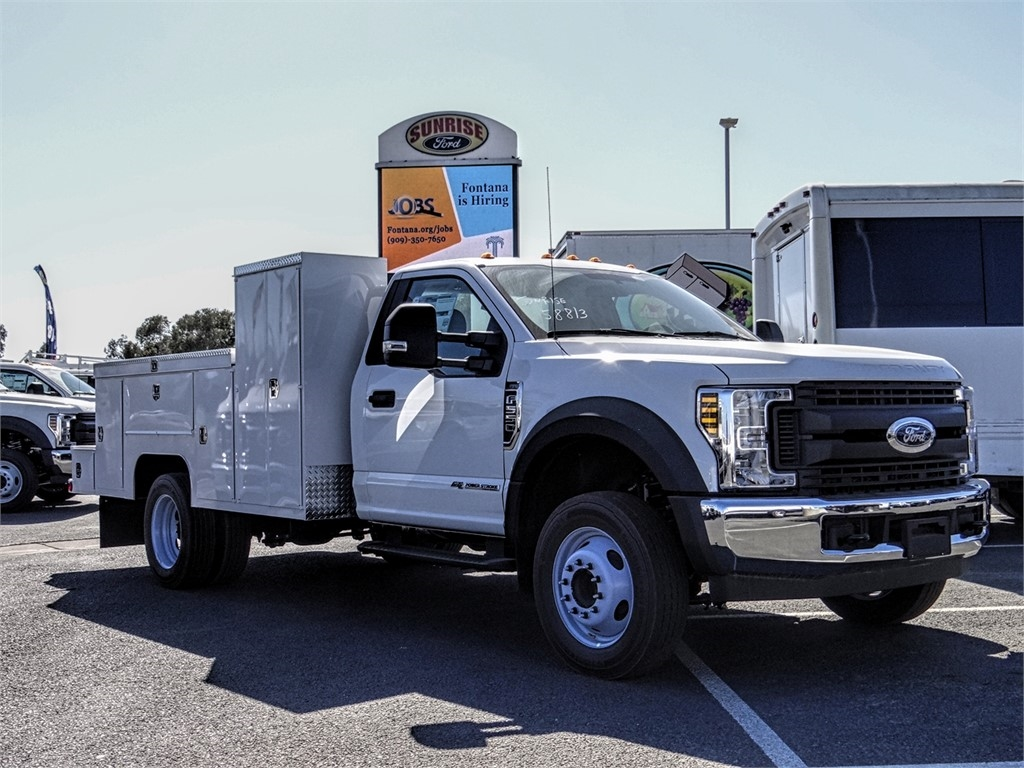 2019 F-550 Regular Cab DRW 4x2,  Scelzi Welder Body #FK3736 - photo 6