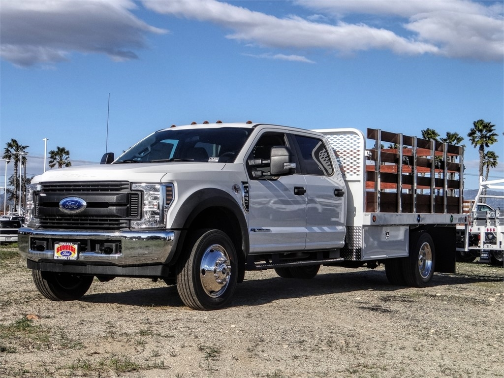 2019 F-550 Crew Cab DRW 4x2, Scelzi Stake Bed #FK3844 - photo 1