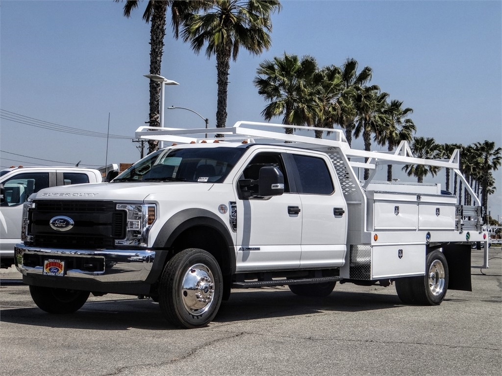 2019 F-450 Crew Cab DRW 4x2, Scelzi Contractor Body #FK3878 - photo 1