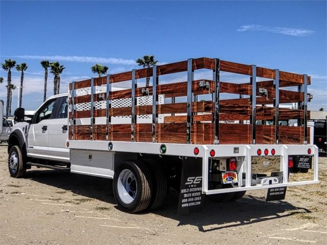 2019 F-450 Crew Cab DRW 4x2,  Scelzi Stake Bed #FK3904 - photo 1