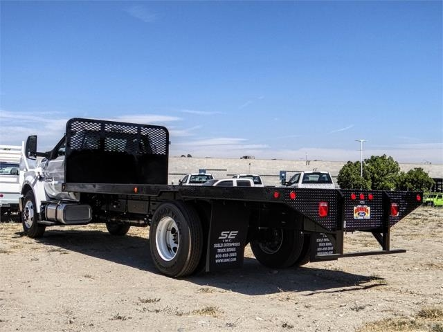 2019 F-650 Regular Cab DRW 4x2,  Scelzi Flatbed #FK3935 - photo 1