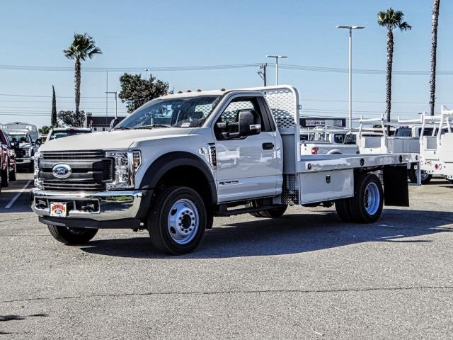 2019 F-450 Regular Cab DRW 4x2,  Scelzi Flatbed #FK3944 - photo 1