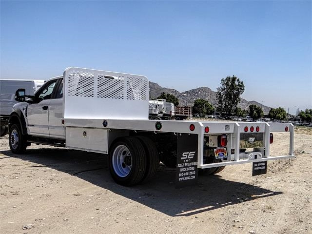 2019 F-450 Super Cab DRW 4x2,  Scelzi Flatbed #FK3946 - photo 1