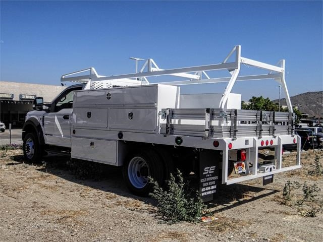 2019 F-550 Regular Cab DRW 4x2,  Scelzi Contractor Body #FK3963 - photo 1