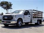 2019 F-350 Regular Cab DRW 4x2,  Scelzi Stake Bed #FK4038DT - photo 1