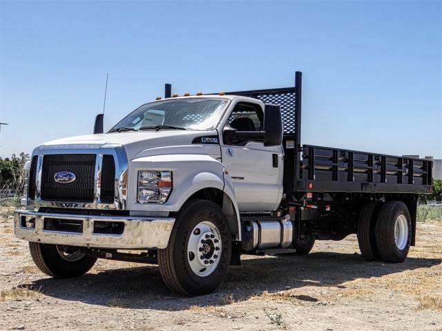 2019 F-650 Regular Cab DRW 4x2,  Scelzi Stake Bed #FK4094 - photo 1