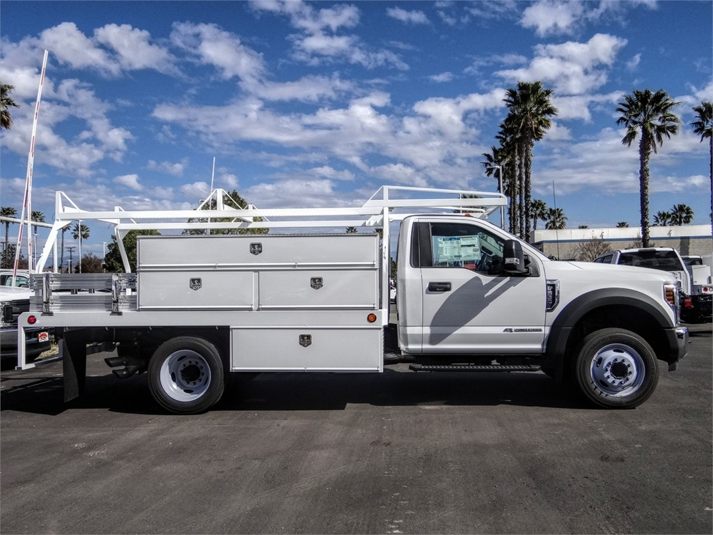 2019 F-550 Regular Cab DRW 4x2, Scelzi SCTFB Contractor Body #FK4096 - photo 5
