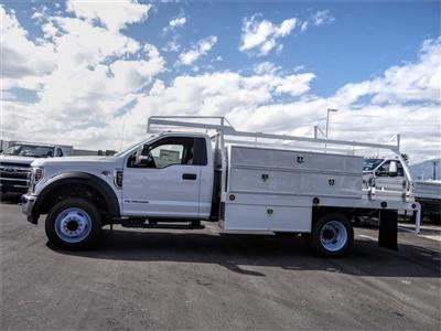 2019 F-550 Regular Cab DRW 4x2, Scelzi SCTFB Contractor Body #FK4096 - photo 3