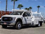 2019 F-550 Crew Cab DRW 4x2,  Scelzi Contractor Body #FK4131 - photo 1