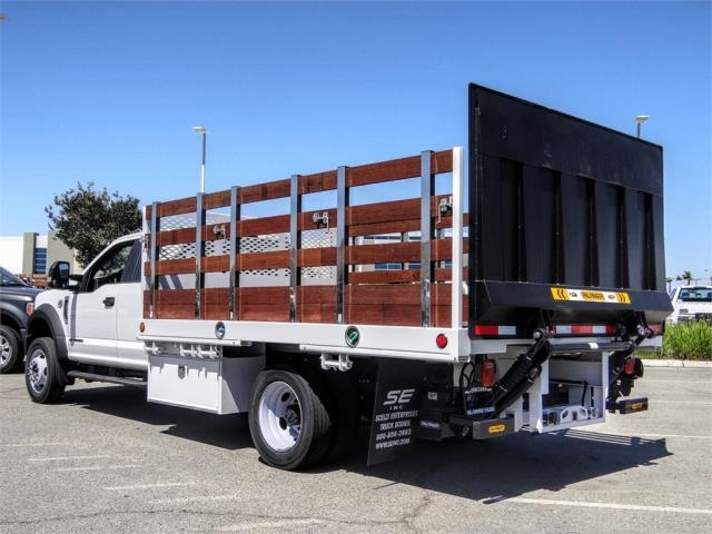 2019 Ford F-550 Super Cab DRW 4x2, Scelzi Stake Bed #FK4208 - photo 1