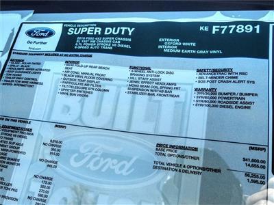 2019 Ford F-550 Super Cab DRW 4x2, Scelzi WFB Stake Bed #FK4208 - photo 11