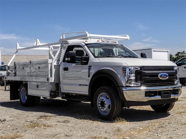 2019 F-550 Regular Cab DRW 4x2,  Scelzi CTFB Contractor Body #FK4251 - photo 6
