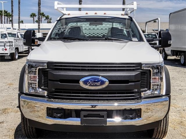 2019 F-550 Regular Cab DRW 4x2,  Scelzi CTFB Contractor Body #FK4251 - photo 7
