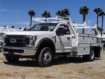 2019 F-550 Regular Cab DRW 4x2,  Scelzi CTFB Contractor Body #FK4251 - photo 1