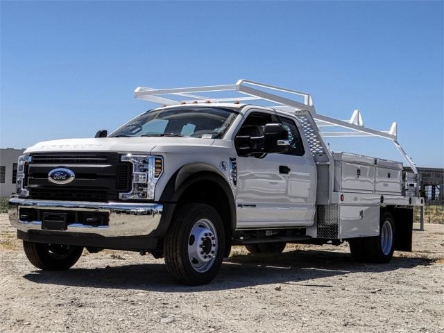 2019 F-550 Super Cab DRW 4x2,  Scelzi Contractor Body #FK4315 - photo 1