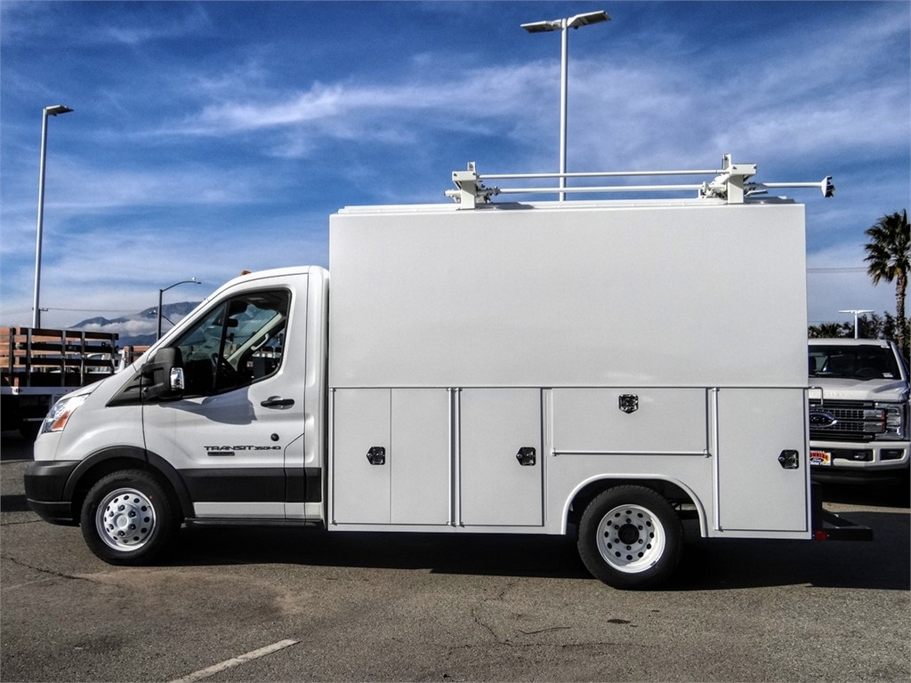 2019 Transit 350 HD DRW 4x2, Service Utility Van #FK4348 - photo 3