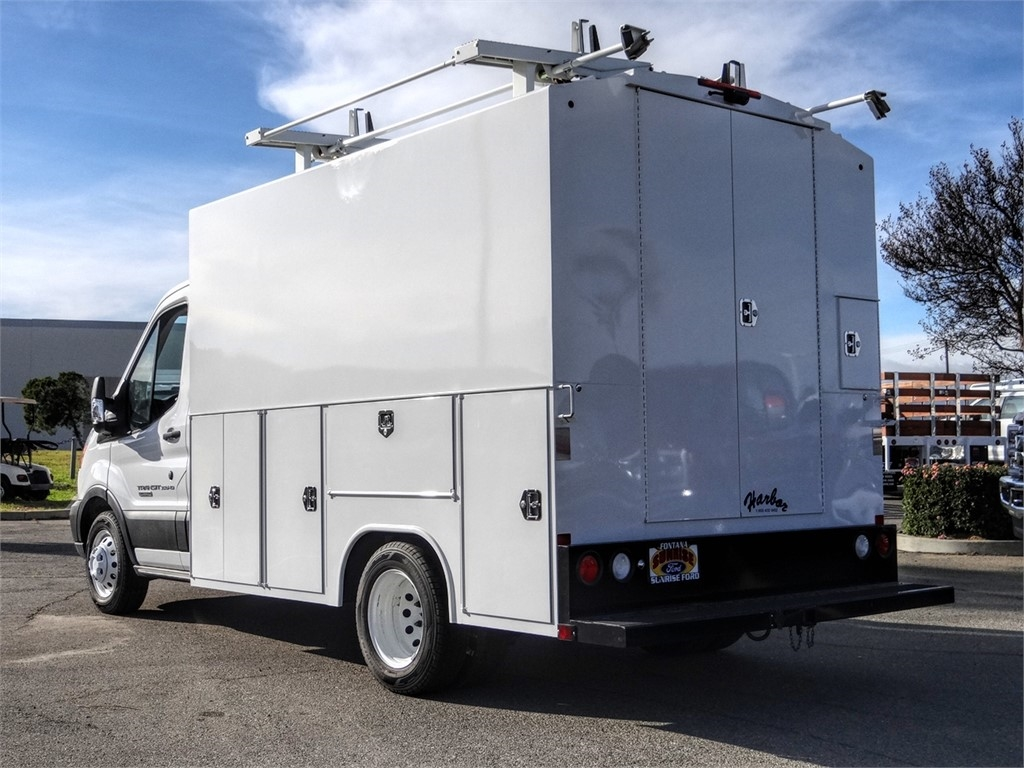 2019 Transit 350 HD DRW 4x2, Service Utility Van #FK4348 - photo 2