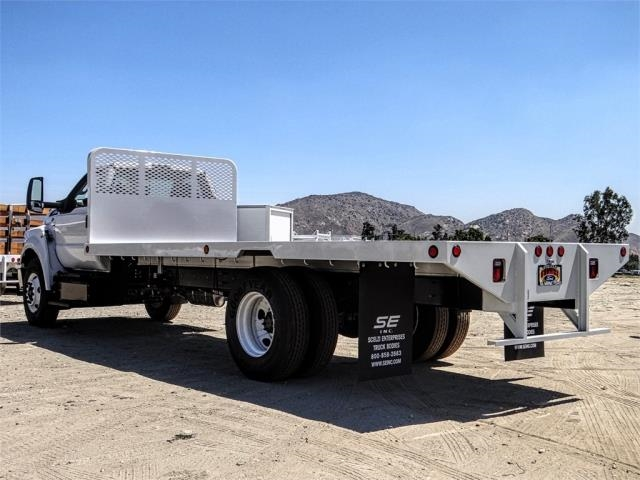 2019 F-650 Regular Cab DRW 4x2,  Scelzi Flatbed #FK4424 - photo 1