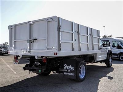 2019 F-450 Regular Cab DRW 4x2,  Harbor Master Landscape Dump #FK4444 - photo 4