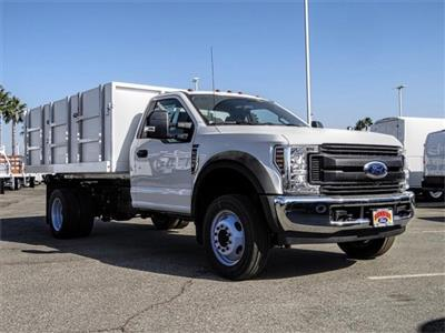 2019 F-450 Regular Cab DRW 4x2,  Harbor Master Landscape Dump #FK4444 - photo 6