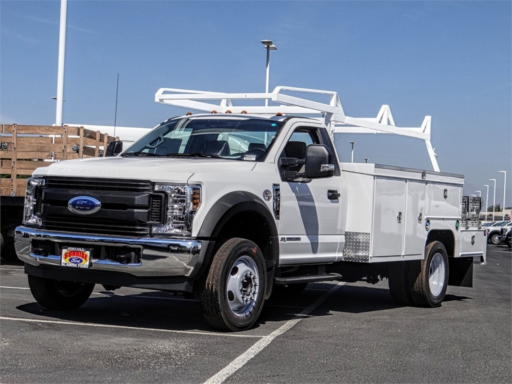 2019 F-550 Regular Cab DRW 4x2, Scelzi Combo Body #FK4494 - photo 1