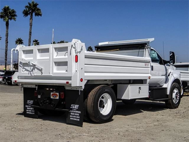 2019 F-750 Regular Cab DRW 4x2,  Scelzi Dump Body #FK4508 - photo 4