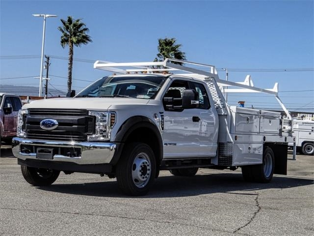 2019 F-550 Super Cab DRW 4x2,  Scelzi Contractor Body #FK4526 - photo 1